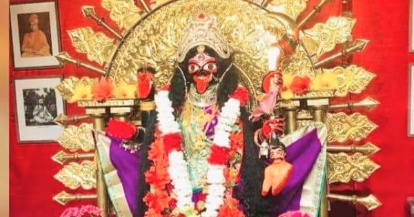 Kali Bari Pooja